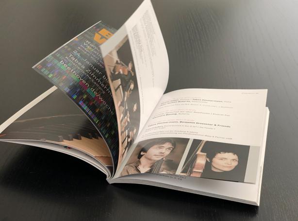 Offsetdruck Broschüre