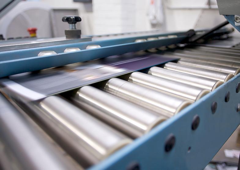 Druckweiterverarbeitung Weiterverarbeitung Falzen Heften