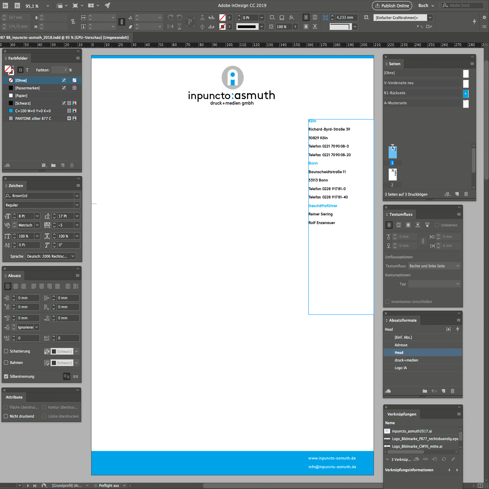 Adobe Indesign Schulungen