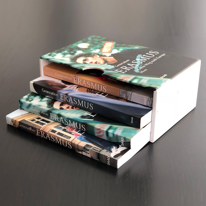 Offsetdruck Bücher Schuber